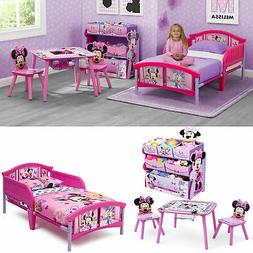 Bedroom Toddler Bed Set Table and Chairs Set w/ BONUS Toy Or