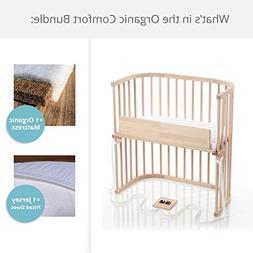 babybay Bedside Sleeper Organic Comfort Bundle in Natural