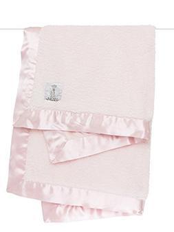 Little Giraffe Bella Velvet Baby Blanket, Pink