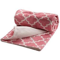 Berlando- Cradle Bedding Baby Blanket, Pink Pastel, -MOROCCA