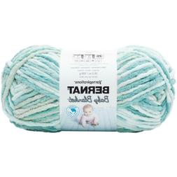 Bernat Baby Blanket Big Ball Yarn-Baby Blue/Green
