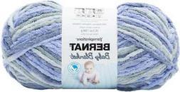 Bernat Baby Blanket Big Ball Yarn-Lovely Blue