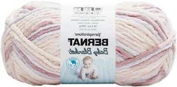 Bernat Baby Blanket Big Ball Yarn-Raspberry Kisses