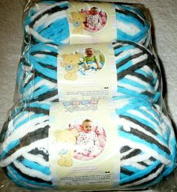 Bernat Baby Blanket Yarn, 3.5 oz, Gauge 6 Super Bulky, Sail
