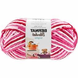 Bernat Blanket Brights Big Ball Yarn-Raspberry Ribbon Varieg