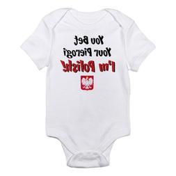 CafePress Bet Your Pierogi Kids Infant Bodysuit Cute Infant
