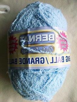 Bernat Big Ball Yarn 7oz 200g Skein Blue One Makes One Baby