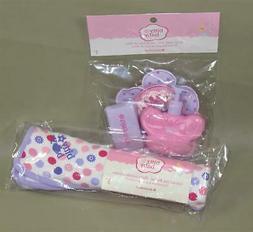 AMERICAN GIRL BITTY BABY BITTY'S BATH SET + COLORFUL DOTS BL