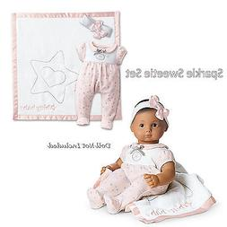 American Girl Bitty Baby Sparkle Sweetie Set  Brand NEW in A