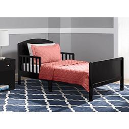 Black Delta Children Archer Toddler Regular Bed - MDF, Metal