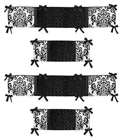 Sweet Jojo Designs Black and White Isabella Collection Crib