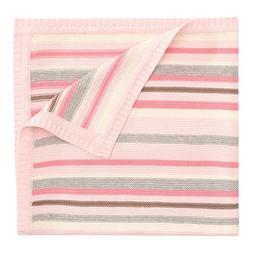 "Elegant Baby Blanket, Pink, 30""x 40"""