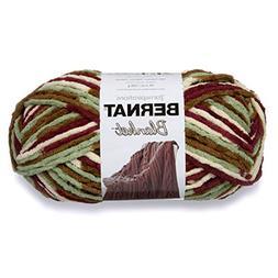 Bernat Blanket Big Ball Yarn , Plum Fields