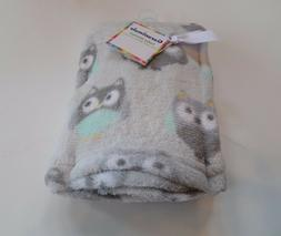 Garanimals Blanket Owls Infant Baby Gray Soft Unisex NEW Gir
