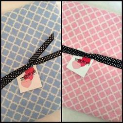 Blanket Receiving Swaddle for Infant Boy Girl Quatrefoil Pri