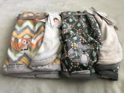 Blankets and & Beyond Boy Girl Unisex Soft Baby Blanket Lot