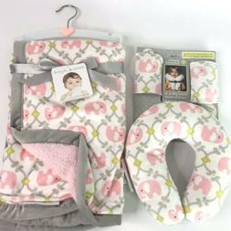 Blankets And Beyond Baby Blanket Travel Pillow Seatbelt Cove