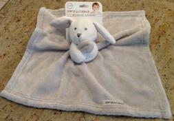 Blankets And Beyond Baby New Gray/White Puppy Plush Security