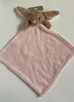 Blankets And Beyond Bunny Rabbit Brown Pink Security Baby Bl