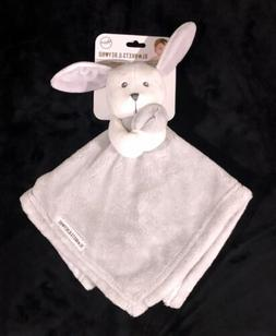 Blankets And Beyond Bunny Rabbit Gray Grey Security Blanket