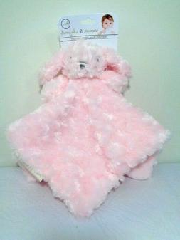 Blankets & Beyond Bunny Rabbit Nunu Security Blanket Pink Sw