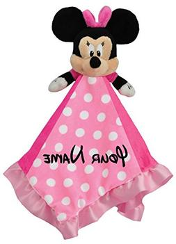 Disney Blanky Personalized Minnie Mouse Baby Snuggle Blanket