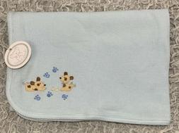 Koala Baby Blue Boys Receiving Blanket Puppy Dog Paw Prints