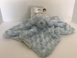 Blankets &  Beyond Blue Dog Nunu withRosette Swirls Security