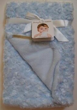 Blankets & Beyond Blue Plush Blanket Baby Boy Gift