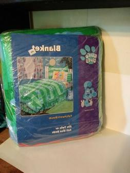 Blues Clues Baby Toddler Blanket Throw 100% Polyester Vintag
