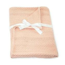 - Cosy Bed Egyptian Cotton Baby Blanket, Blush. Cozy Bed