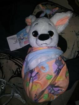 Disney Parks Bolt Baby Plush with Blanket Pouch