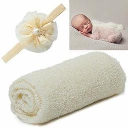UIMagic Newborn Baby Photography Props - Long Ripple Wrap Bl