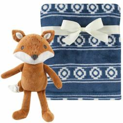 boy and girl plush blanket with plush