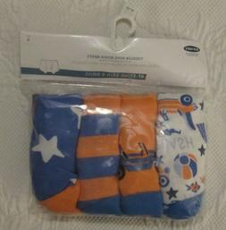 Old Navy Boys Orange Blue Package Underwear 4T 5T New with T