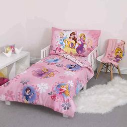 Brand New Disney 4 Piece Minnie's Fluttery Friends Toddler B