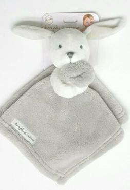 Brand New Blankets & Beyond Baby Security Blanket  Gray & Wh