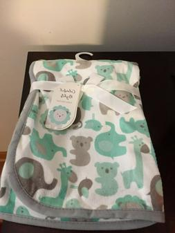 BRAND NEW INFANT BOYS OR GIRL'S COLORFUL NIGHTS BABY BLANKET