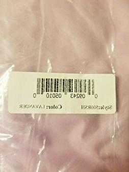 MADE IS THE USA Baby Doll Brand 500RSH Solid Round Crib Lavender Sheet