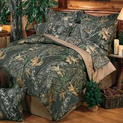 Mossy Oak Break Up Comforter Set with FREE VALANCE