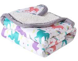 Breathable Baby Blanket Print Fleece Best Registry Gift for