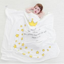 Breathable Baby Blanket Soft Cotton Material Kids Blankets B