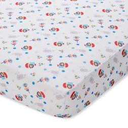 BreathableBaby Breathable Wick Dry Sheet- Whale Friends - Wh