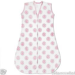 BreathableBaby Breathablesack Wearable Blanket, Dahlia/Pink/