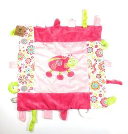 Bright Whimsical Ladybug Baby Blanket w Teethers by La Galle