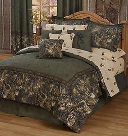 Browning Whitetails Comforter Set Rustic Lodge & Cabin Kimlo