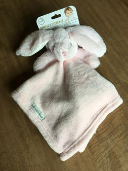 Blankets and Beyond Bunny Rabbit Security Blanket Lovey Pink