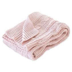 Burt's Bees Baby - Cable Knit Blanket, Baby Nursery & Stroll