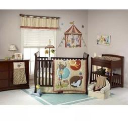 Nojo By Jill McDonald Amazing Animals 5-Pc Crib Bedding Set