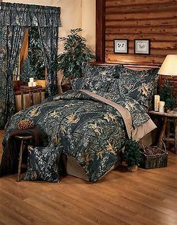 Mossy Oak Camo Comforter Set, Camouflage Bedding Twin Full Q